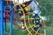 Feuerwehren Ahe, Engern, Steinbergen: Ehrenamtliche trainieren für den Ernstfall