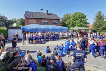 Kinder- und Jugendfeuerwehr feiern: Doppeltes Jubiläum in Krankenhagen