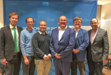 Ulrich Seidel zum neuen Vorsitzenden des CDU Stadtverbandes Rinteln gewählt