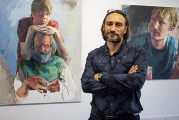 30 Augen ziehen in ihren Bann: Künstlerportraits von Igor Oster in der Projektgalerie Alte Druckerei