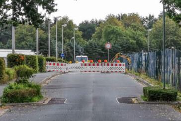 Teilsperrung der Burgfeldsweide: Umleitungen beachten!