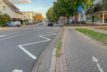 Neue Fahrbahnmarkierungen machen Halteverbote deutlich