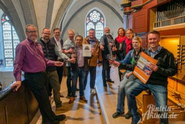 Rintelner Weintage: Gastronomen übernehmen Patenschaft für Orgelpfeife in St. Nikolai