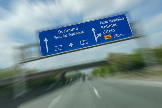 Achtung auf der A2: Zwei Wochen Engpässe bei Porta Westfalica in beiden Richtungen