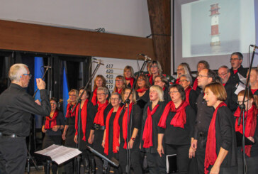 """You are the light"": Gospelchor-Jahreskonzert im Johannis-Kirchzentrum Rinteln"