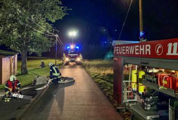 Uchtdorf: 62 Feuerwehrleute üben den Ernstfall