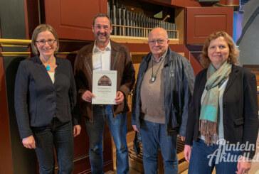 Rintelner Löwen mit großem Herz für die Kirchengemeinde: Lions Club spendet 2.000 Euro für Sanierung der Nikolai-Orgel