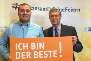 IHK würdigt Niedersachsens beste Azubis: Hohe Ehrung für Jan Hendrik Bradt von den Stadtwerken Rinteln