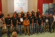 Die Meisterschale steht jetzt in Rinteln: Luftsportverein Rinteln ist Deutscher Meister 2019