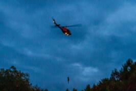 Segelflieger-Insassen konnten mit Hubschrauber gerettet werden