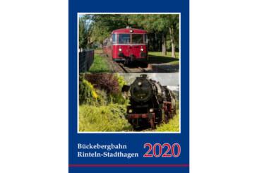 Eisenbahnkalender 2020 erschienen