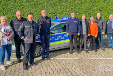 Polizei und Handwerk informieren: Profis geben wertvolle Tipps und beraten zum Thema Einbruchschutz