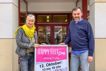 5. Happy-Feet-Day am 12. Oktober bei Schuh-Peters