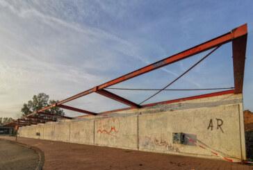 Unterstand und Bushaltestelle am Ernestinum werden abgebaut