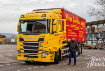Gas statt Diesel: CNG-betriebener LKW bei Rintelner Spedition in Betrieb genommen