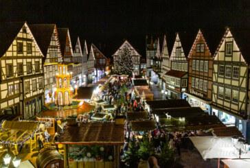 """""""Weihnachten lebt von Überwältigung"""": Rintelner Adventszauber 2019 feierlich eröffnet"""