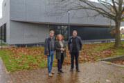 """Hallenneubau für 4,5 Millionen Euro: Rintelner Grünen-Fraktion besichtigt """"Aula 4.0"""" in Neustadt am Rübenberge"""