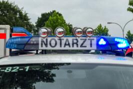 Rinteln: Schwerer Unfall in der Nähe des Bahnübergangs Stoevesandtstraße