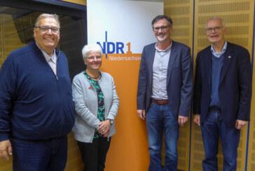 Stiftung für Rinteln zu Besuch bei NDR1 Plattenkiste