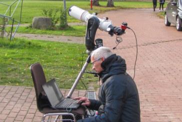 Merkurtransit: Schüler am Gymnasium Ernestinum beobachten seltenes Astro-Ereignis im All