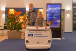 Videowettbewerb der Volksbank: Fünf Kinderbusse für Kitas und Krippen im Landkreis zu gewinnen