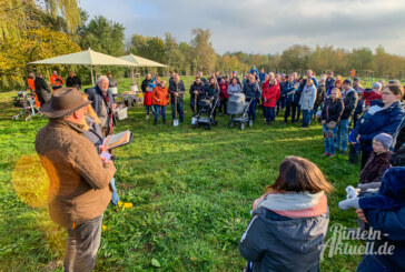 Generationenpark Rinteln wächst um 27 neue Apfelbäumchen