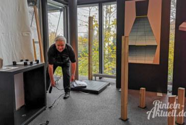 """""""Magie des Lichts"""": Aufbau für neue Sonderausstellung im Museum Eulenburg läuft auf Hochtouren"""