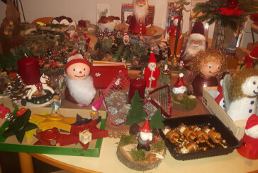 Bastelgruppe der Kapellengemeinde Todenmann führt wieder einen Weihnachtsbasar durch