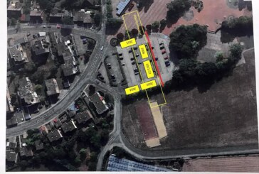 Parkplatz am Gymnasium Ernestinum schrumpft: Kein Platz mehr für Elterntaxis ab Montag, 18.11.2019