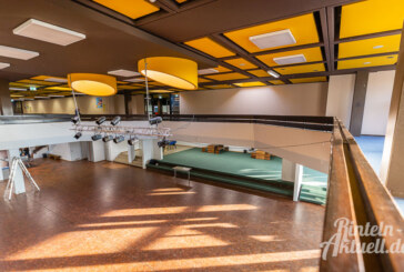 Aula im Gymnasium Ernestinum wird umgebaut