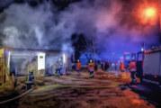 Feuerwehreinsatz in Ahe: Brand in Garage