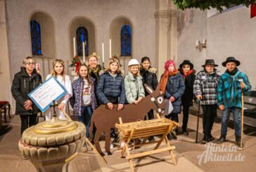 Wennenkamp: Open-Air-Krippenspiel mit echten Tieren am vierten Advent
