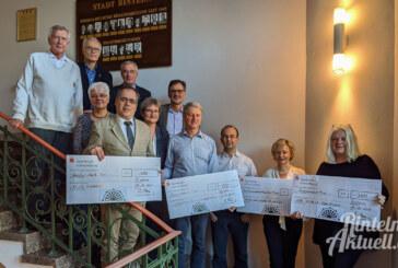 Stiftung für Rinteln übergibt Zuschüsse für den guten Zweck