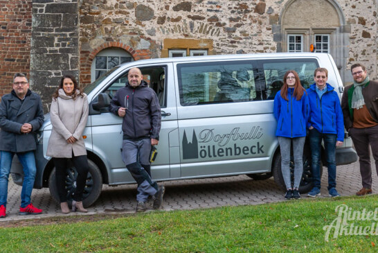 Bescherung auf vier Rädern: Der Möllenbeck-Bulli für Vereine ist da