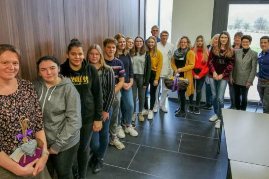 BBS Rinteln engagiert sich für Palliativstation im Klinikum Schaumburg