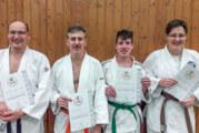 Neun Judo Sportabzeichen in 2019