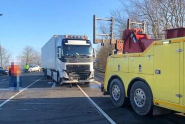Rinteln: Unfall auf der Umgehungsstraße (B 238)