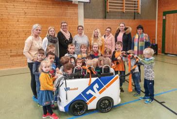 """""""Klosterbande"""" dank Volksbank ab sofort mit Elektroantrieb unterwegs"""