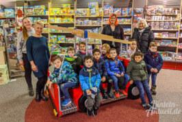 Comenius Kindergarten gewinnt Feuerwehrauto