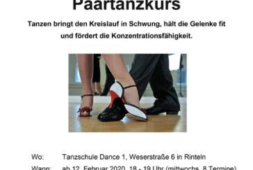 """Tanzkurs für """"Paare 50plus"""""""