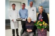 Herzlichen Glückwunsch zum 100. Geburtstag