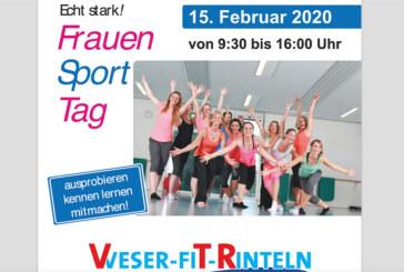 Ausprobieren und mitmachen beim 1. Frauensporttag im Weser-Fit-Rinteln