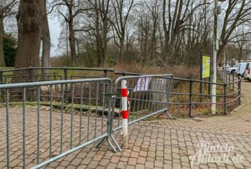 """Nach Sabine kommt """"Victoria"""": Blumenwall bleibt gesperrt"""