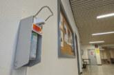 Corona-Virus: Rinteln stellt Desinfektionsmittel in öffentlichen Gebäuden bereit