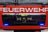 Garagenbrand in Krankenhagen: 60 Feuerwehrleute im Einsatz