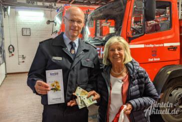 Kneipp-Verein spendet für Nachwuchsarbeit der Ortsfeuerwehr Rinteln