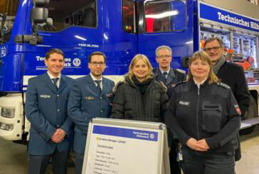 Hightech im Heck: Neuer Gerätekraftwagen für THW Ortsverband Rinteln