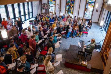 120 Teilnehmer proben für Gospel-Abschlusskonzert heute in St. Nikolai