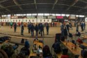 Bewährungsprobe für geschickte Boulespieler: Matschiges Terrain sorgt für Herausforderungen
