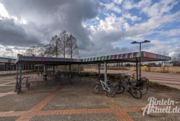 Schüler am Gymnasium Ernestinum Rinteln beantragen Überdachung für neue Fahrradständer